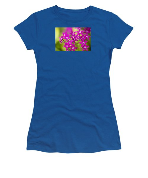 Smell Purple Women's T-Shirt (Athletic Fit)