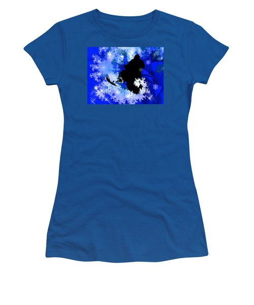 Snowmobiling In The Avalanche  Women's T-Shirt