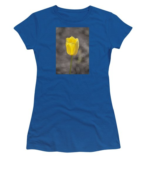 Soft And Yellow Women's T-Shirt (Athletic Fit)