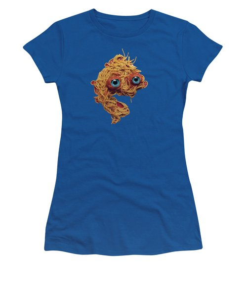 Spaghetti Face Women's T-Shirt (Athletic Fit)