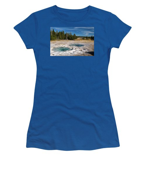Spasmodic Geyser Women's T-Shirt (Athletic Fit)