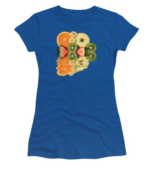 Split Reflections Women's T-Shirt (Athletic Fit)