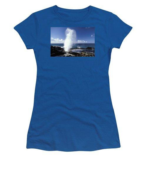 Spouting Horn Blow Hole Women's T-Shirt