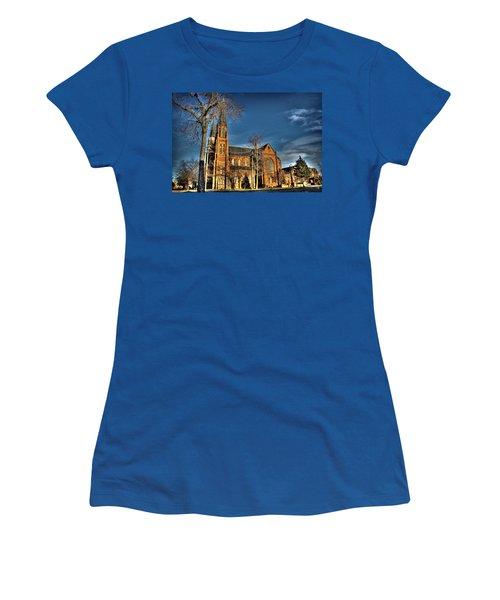 St. Annes Detroit Mi Women's T-Shirt (Athletic Fit)
