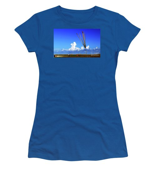 Women's T-Shirt (Athletic Fit) featuring the photograph Standing Tall by Gary Wonning