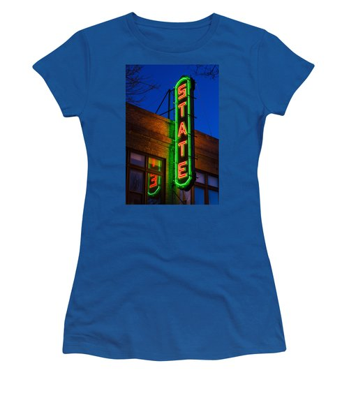 State Theatre - Ithaca Women's T-Shirt (Athletic Fit)