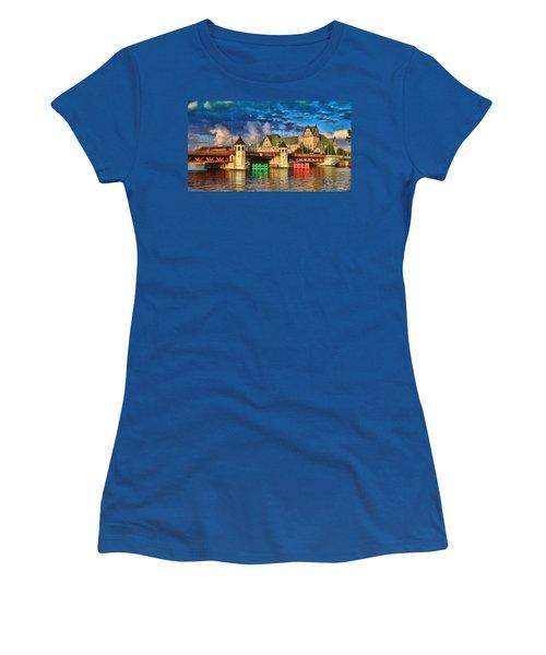 Stettin Bridge - Pol890431 Women's T-Shirt