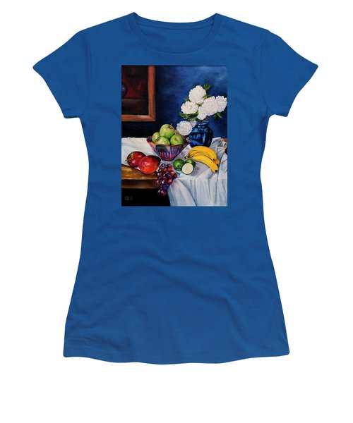 Still Life With Snowballs Women's T-Shirt (Athletic Fit)