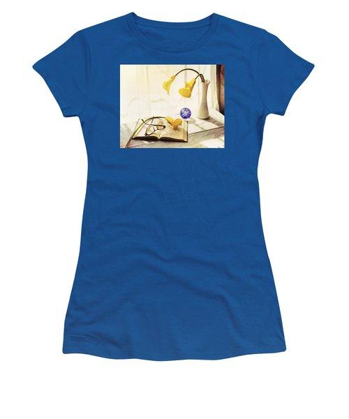 Still Life - Yellow Calla Lilies Women's T-Shirt