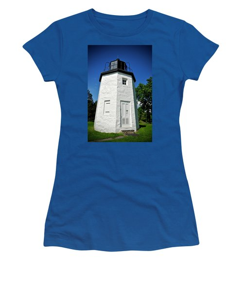 Stony Point Lighthouse Women's T-Shirt (Athletic Fit)