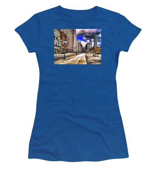 Streets Of Chicago Women's T-Shirt