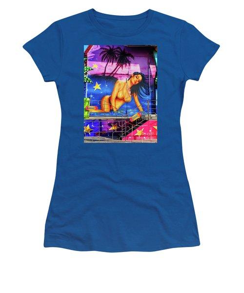 Suggestive Invitation Women's T-Shirt (Junior Cut) by Don Pedro De Gracia
