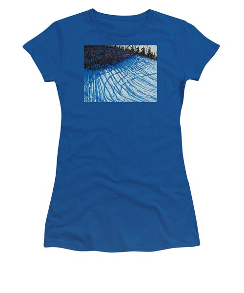Sun Of Winter Shadows Women's T-Shirt (Athletic Fit)