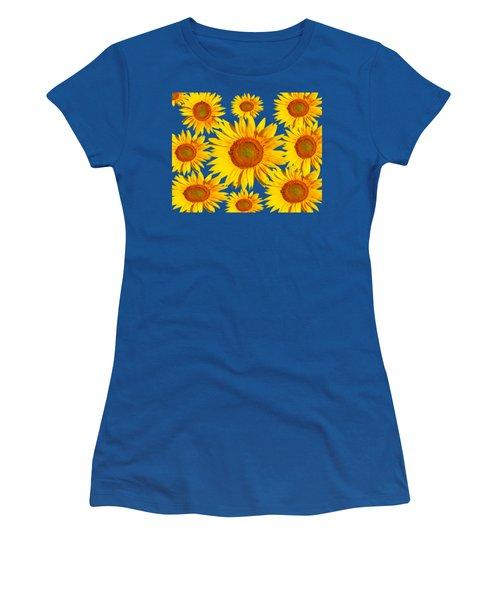 Sunflower Circle Women's T-Shirt