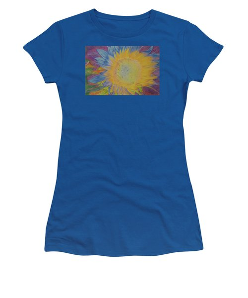 Women's T-Shirt featuring the pastel Sunglow by Cris Fulton