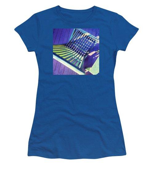 Sunlight On My Deck Chair, Color Study Women's T-Shirt