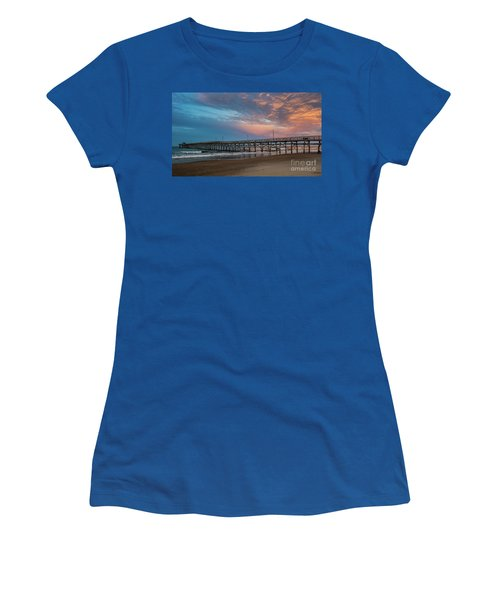 Sunset Over The Atlantic Women's T-Shirt (Junior Cut) by Scott and Dixie Wiley