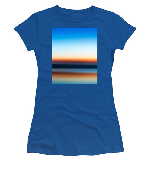 Sunset At Ottawa Lake Women's T-Shirt (Athletic Fit)