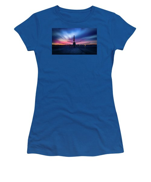 Sunset Flight Women's T-Shirt