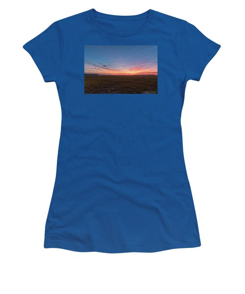 Sunset Pastures Women's T-Shirt (Athletic Fit)