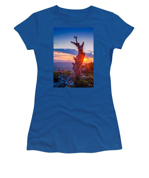 Sunset Tree Women's T-Shirt