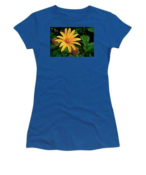 Sunshine Cheerleader Women's T-Shirt (Athletic Fit)
