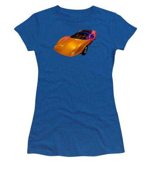 Super Car Orange Art Women's T-Shirt