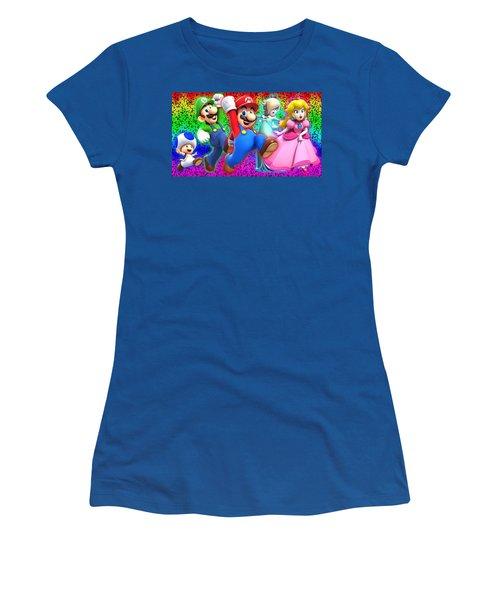 Super Mario 3d World Women's T-Shirt
