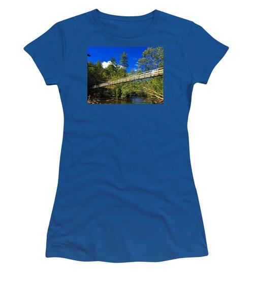 Toccoa River Swinging Bridge Women's T-Shirt