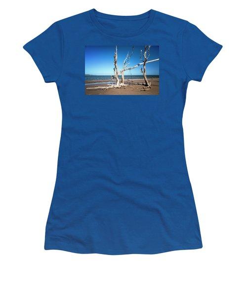 Swingin' At Low Tide Women's T-Shirt
