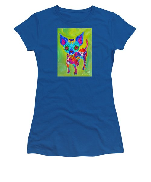 Talavera Chihuahua Women's T-Shirt (Athletic Fit)
