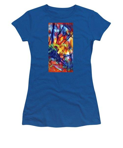 Taylors Creek Women's T-Shirt (Junior Cut) by David Hansen