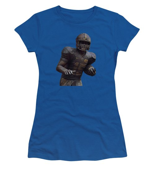 Tebow Transparent For Customization Women's T-Shirt (Athletic Fit)