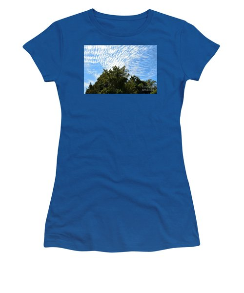 Women's T-Shirt (Junior Cut) featuring the photograph Texas Scene - Midday  by Ray Shrewsberry