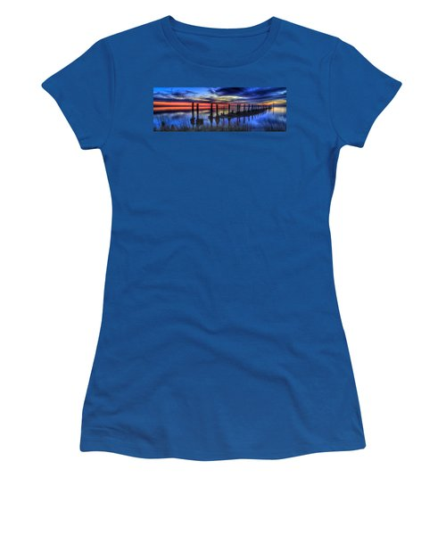 The Blue Hour Comes To St. Marks #2 Women's T-Shirt