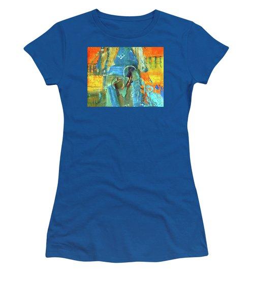 The End Game Women's T-Shirt (Junior Cut) by Everette McMahan jr