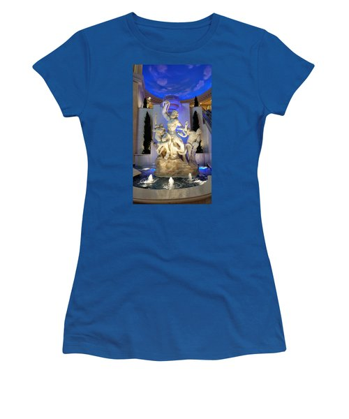 The Forum Shop Statues At Ceasars Palace Women's T-Shirt (Athletic Fit)