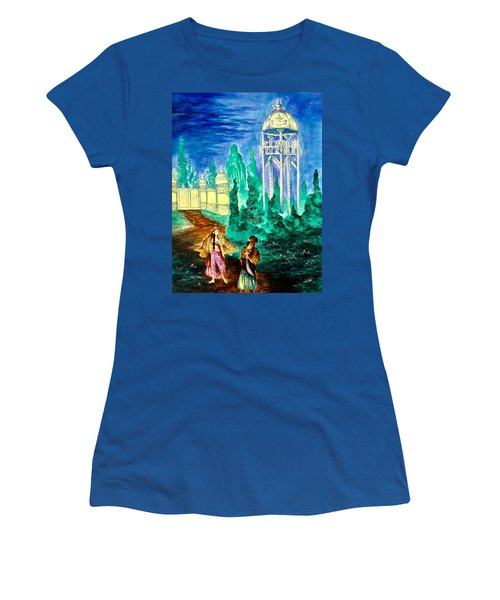 The Garden Of Pictures Women's T-Shirt (Athletic Fit)