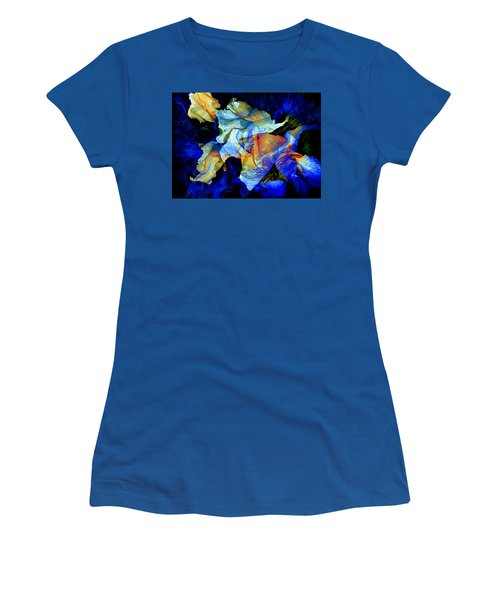 Women's T-Shirt (Athletic Fit) featuring the painting The Heart Of My Garden by Hanne Lore Koehler