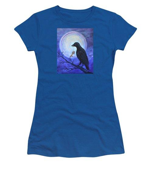 The Key Women's T-Shirt (Junior Cut) by Agata Lindquist