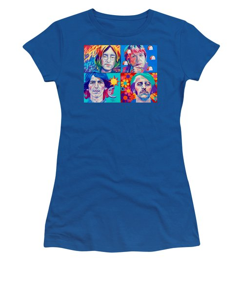 Come Together Women's T-Shirt (Junior Cut) by Rebecca Glaze