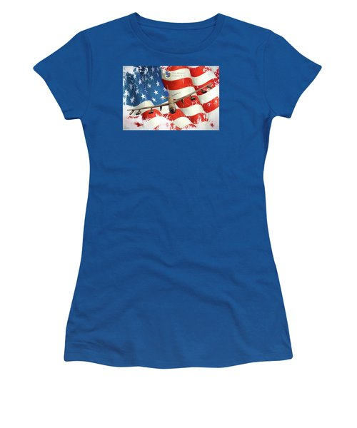 The Mighty B-52 Women's T-Shirt (Athletic Fit)