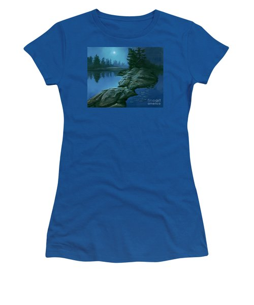The Moonlight Hour Women's T-Shirt (Athletic Fit)