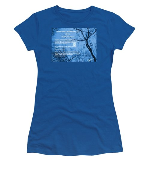 The Pleasant Countenance Of The Moon Women's T-Shirt