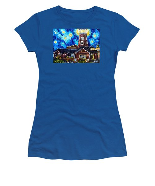 The Salty Dog Saloon Women's T-Shirt (Junior Cut)