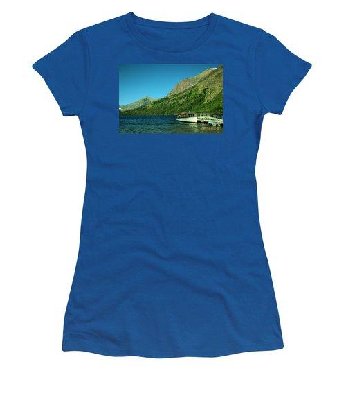 The Senopah Two Medicine Lake Glacier National Park Women's T-Shirt