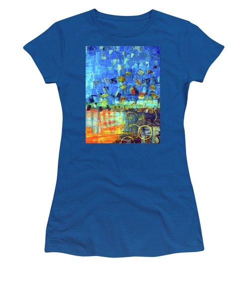 The Sky Fell Women's T-Shirt (Junior Cut) by Everette McMahan jr