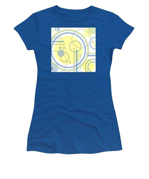 The Softness Of Circles Women's T-Shirt (Junior Cut) by Tara Hutton