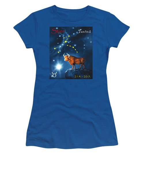 The Star Taurus Women's T-Shirt (Athletic Fit)