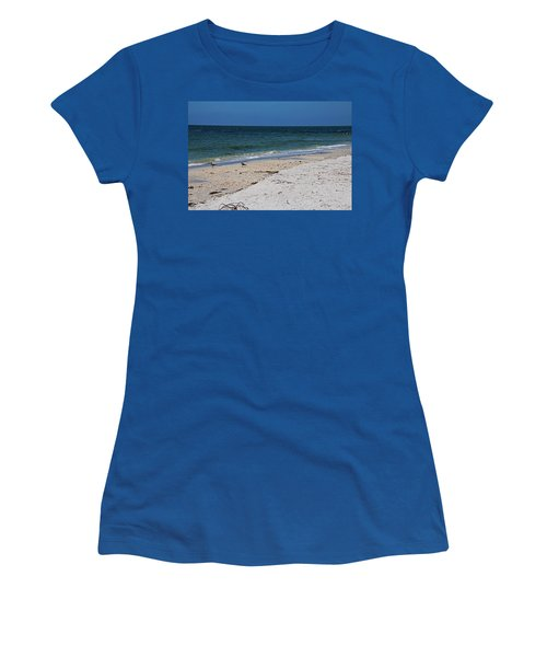 Women's T-Shirt (Athletic Fit) featuring the photograph The Stuff That Never Happened by Michiale Schneider